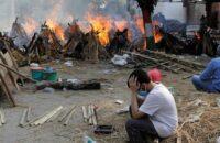 করোনাভাইরাস: ভারতে একদিনে আরও ৩৬৪৫ জনের মৃত্যু