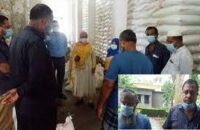 কাউখালীতে বিজিডি'র চাল খাদ্য গুদাম থেকে কম দেয়ার অভিযোগ
