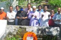 বরিশালে সাংবাদিক মাইনুল হাসানের মৃত্যুবার্ষিকী পালন