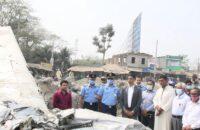পটুয়াখালীতে যুদ্ধবিমান ভেঙে বিপাকে সেতু কর্তৃপক্ষ