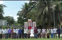 মনপুরায় শহীদ মিনার প্রাঙ্গনে ৩ শতাধিক জেলের মানববন্ধন