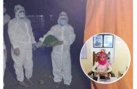 পিরোজপুরে করোনায় মারা যাওয়া নারীর গোসল করালেন ইউএনও