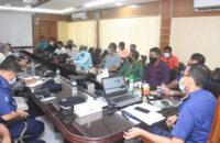 বরিশাল রেঞ্জ ডিআইজি'র সঙ্গে জেইউবি সদস্যদের মতবিনিময়